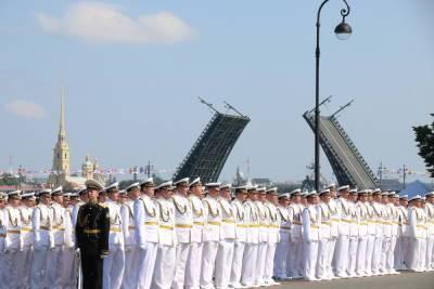 В центре Петербурга вновь перекроют движение из-за подготовки и проведения парада ВМФ