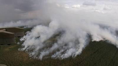 На всей территории Карелии введен режим чрезвычайной ситуации из-за масштабных природных пожаров