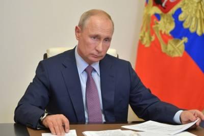 Путин выразил недовольство информированностью общества о пандемии коронавируса