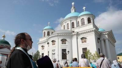 Воссозданный собор Казанской иконы Божией Матери открыли в Казани