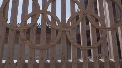 В Японии прошли первые соревнования Олимпийских игр