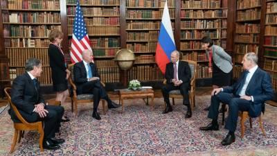 Байден осознал себя президентом США при встрече с Путиным