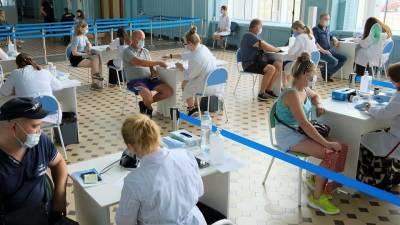 В ряде российских регионов увеличили штат мобильных пунктов вакцинации