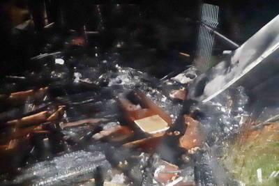 В Смоленске в Колодне мужчина вынес своего брата из горящего летнего дома