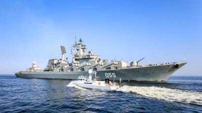 Генрепетицию парада ВМФ в Кронштадте отменили из-за ветра