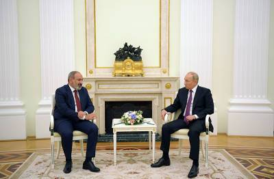 Путин и Пашинян обсудили Нагорный Карабах