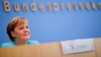Меркель вступилась за соглашение о «Северном потоке-2»