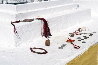 В бурятском селе установили 41-метровую статую Будды сострадания