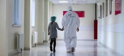 За сутки в Карелии коронавирус обнаружен у 26 детей