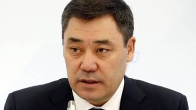 Садыр Жапаров сделал прививку против коронавируса