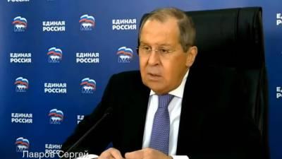 Лавров заявил, что на Западе политтехнологи хотят расшатать ситуацию в России перед выборами