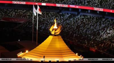 РЕПОРТАЖ: Олимпийский огонь зажжен на новом Национальном стадионе в Токио