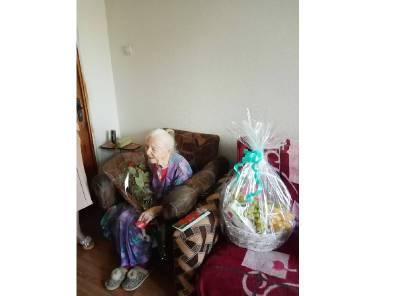 Смолянка празднует свой 100-летний юбилей