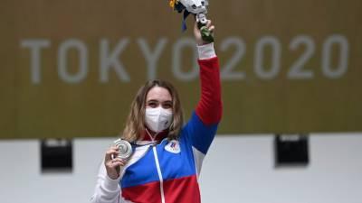 Матыцин поздравил Галашину, завоевавшую первую для России медаль на ОИ в Токио