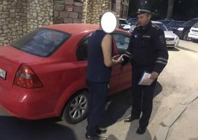 Рязанские полицейские поймали пьяного водителя на улице Октябрьской