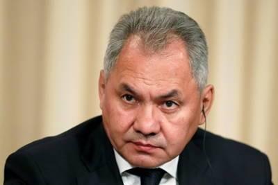 Шойгу обсудил ситуацию в Афганистане с главой Минобороны Таджикистана