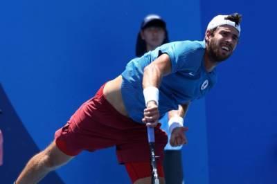 Теннисист Хачанов вышел во второй круг олимпийского теннисного турнира