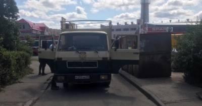 В Калининграде грузовик сбил 49-летнюю женщину