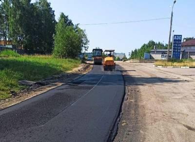 В Смоленске продолжается ремонт на ул. Шевченко