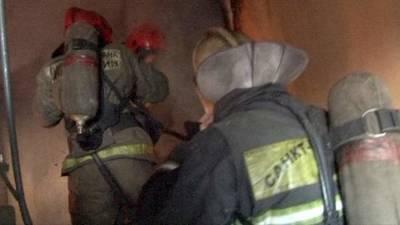 Пожар произошел в жилом доме в центре Санкт-Петербурга