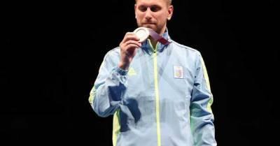 Украина получила вторую медаль Олимпийских игр-2020. Появилось видео церемонии награждения