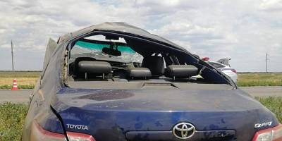 На трассе «Элиста — Зимовники» в ДТП пострадали два человека, в том числе 11-летняя девочка