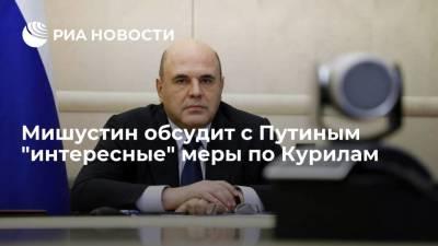 """Мишустин пообещал """"интересные"""" меры по Курилам после обсуждения с Путиным"""