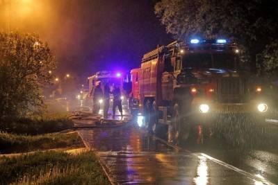 В смоленской деревне Садовой в пожаре погибла 63-летняя женщина