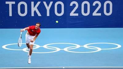 Теннисист Медведев вышел в третий круг Олимпиады в Токио