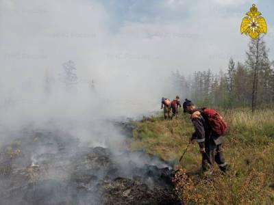 В Якутии действуют 154 пожара, 29 городов и поселков затянуты дымом