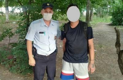 В Рязани патрульные полицейские задержали находящегося в федеральном розыске мужчину