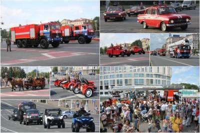 День пожарной службы в Минске: изучаем самую интересную спецтехнику