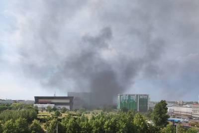 В апарт-отеле на юге Санкт-Петербурга вновь произошел пожар
