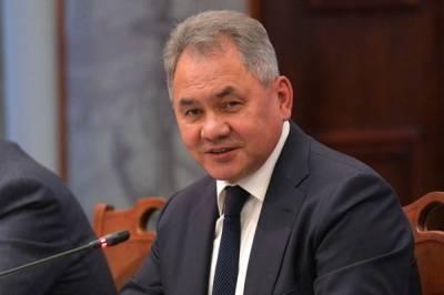 Шойгу провел телефонный разговор с и.о. министра обороны Армении