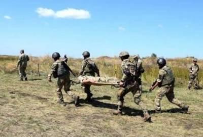 """За год """"тишины"""" на Донбассе погибли 45 военных, еще 163 получили ранения"""