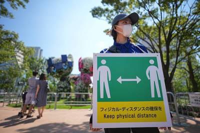 В олимпийском Токио зафиксирован рекордный прирост заражений коронавирусом
