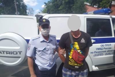 Рязанские патрульные случайно задержали мужчину, находящегося в федеральном розыске