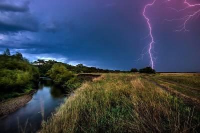 В Смоленской области прогнозируют дожди и грозы