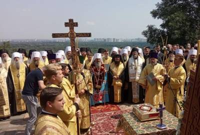 У Нацполиции и УПЦ разные данные о количестве участников крестного хода