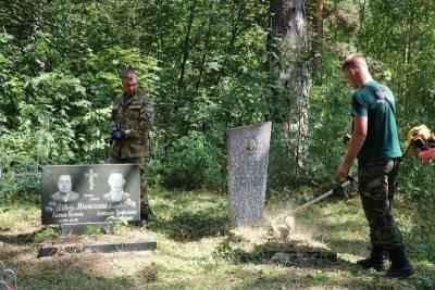 В Смоленской области «доброхоты» благоустроили могилы участников войны