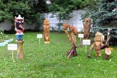 Кот Баюн и Змей Горыныч: в колониях Смоленской области прошел конкурс деревянных фигур