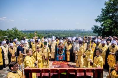 В Крестном ходе УПЦ ко Дню Крещения Руси приняли участие более 350 тысяч украинцев