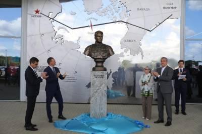 В аэропорту Нижнего Новгорода открылась экспозиция, посвященная Валерию Чкалову