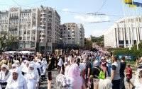 Крестный ход в Киеве собрал 350 тысяч паломников
