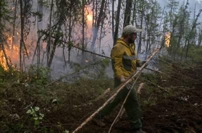 Лесные пожары зафиксированы в Якутии на площади более 1,3 млн га