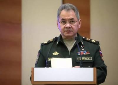 Сергей Шойгу прибыл в Душанбе для участия в совещании министров обороны стран ШОС
