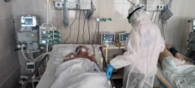 В Карелии начало расти число тяжелых пациентов с коронавирусом