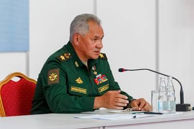Шойгу рассказал о помощи Таджикистану в связи с событиями в Афганистане