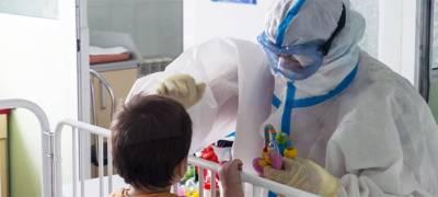Число детей, заразившихся коронавирусом, за время пандемии в Карелии достигло 5365 человек