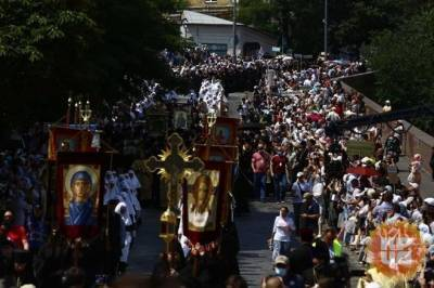 Владимир Зеленский – о Крестном ходе: Это должен быть праздник, после которого не плачут